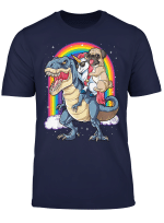 Pug Unicorn Dinosaur T Rex T Shirt Kids Girls Women Rainbow