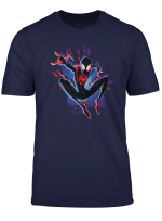 Marvel Spider Man Into The Spider Verse Miles City T Shirt