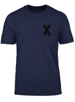 X Straight Edge Hardcore Punk Rock Band Fan Shirt