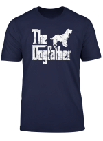 Cocker Spaniel T Shirt The Dogfather Funny Dog Owner Shirt