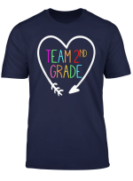 Team 2Nd Second Grade Teacher T Shirt 1St Day Of School