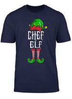Chef Elf Partnerlook Familien Outfit Weihnachten T Shirt