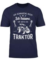 Herren Traktor Bauern Manner Geschenk Fur Treckerfahrer Durfen Das T Shirt