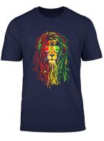 Reggae Music Lovers Tshirt Jamaican Royal Lion T Shirt