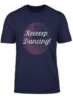 Keep Dancing Fun Pink Glitterball Dance T Shirt