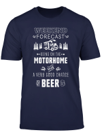 Weekend Forecast Gift For Motorhome Owner Who Loves Beer