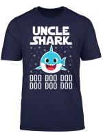 Mens Uncle Shark Doo Doo Doo T Shirt Christmas Gifts T Shirts