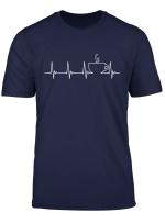 Kaffee Herzschlag Shirt Kaffeetrinker Geschenk T Shirt