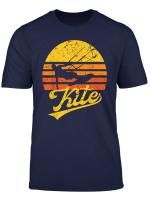 Vintage Kite Kiten Kiteboarding Retro Kitesurfen Surf T Shirt