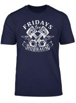 Fridays For Hubraum Future Freiheit Auto Motor Geschenk Fun T Shirt