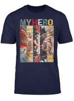 Academiat Shirt My Hero T Shirt Academia Anime Manga Tshirt