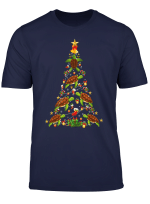 Funny Turtle Christmas Tree Shirt Sea Turtle Lover Xmas Gift T Shirt