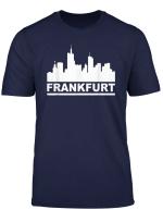 Frankfurt T Shirt Stadt Main Hessen Eintracht Silhouette