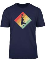 Retro Vintage 80S Basketball Gift For Basketball Players T Shirt