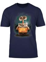 Disney Pixar Wall E Plant Shoe Night Graphic T Shirt