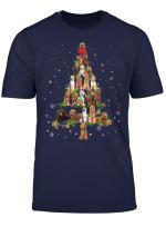 Labradoodle Christmas Tree X Mas Gift T Shirt