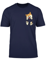 Pocket Shiba Inu Feet Cute Doge Dog Lover Pet Owner Gift T Shirt