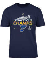 Stanley St Louis Cup Blues Champions 2019 T Shirt For Fans