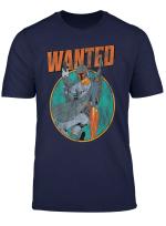 Star Wars Boba Fett Wanted Distressed Mandalorian T Shirt