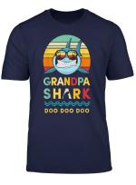 Grandpa Shark T Shirt Grandad Gift