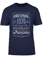 The Original Made In 1970 Vintage 50Th Birthday Party T Shirt