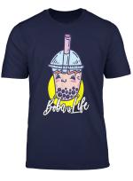 Cute Kawaii Boba Is Life Bubble Tea Boba Tea T Shirt
