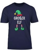 Grosser Elf Partnerlook Familien Manner Jungen Weihnachten T Shirt