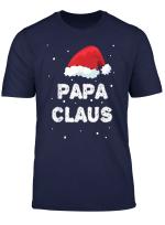 Herren Papa Claus Weihnachtsoutfit Manner Geschenke Fur Weihnachten T Shirt
