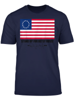 Rushs Limbaugh Betsy Ross 13 Colonies Stars Flag T Shirt