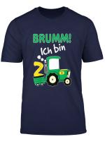 Kinder Trecker Shirt 2 Geburtstag Jungen 2 Jahre Shirt Traktor