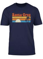 Santa Cruz City Ca Distressed Retro Vintage 70S T Shirt