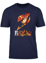 Fairy Tail T Shirt Natsu Dragneel Anime Shirt