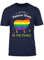 Lgbt I M The Rainbow Sheep Of The Family T Shirt