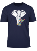 Autism Elephant Tee Shirt Autism Awareness T Shirt