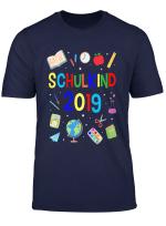 Kinder Schulkind 2019 Kinder Einschulung Schulanfang Geschenk T Shirt