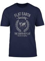 Flat Earth Society T Shirt