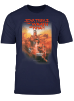 Star Trek The Wrath Of Khan Vintage Poster Graphic T Shirt