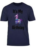 It S My Birthday Llama Purple Loot Shirt