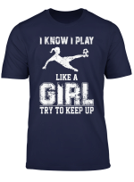 Girls Love Soccer Best Soccer Football Birthday Girls Gift