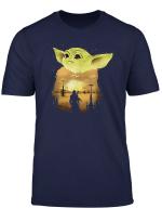 The Mandalorian Yoda Christmas Baby Movie T Shirt