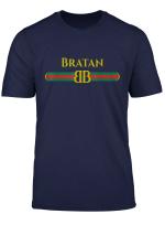 Bratan Designer T Shirt Blyatj Russia Ost Russland