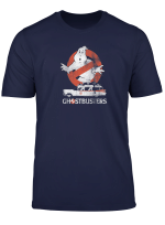 Ghostbusters No Ghost With Ecto Vector T Shirt