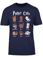 Potter Cats Cute Harry Pawter Kitten T Shirt