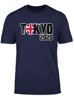 Team Great Britain London Tokyo 2020 T Shirt