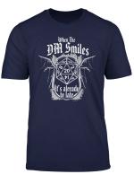 Rolle Dungeons T Shirt Fun Rpg Spielen Wenn Dm Smiles Shirt