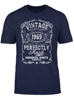 Vintage Made In 1969 T Shirt 50Th Birthday Gift