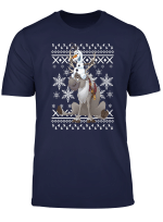 Disney Frozen Olaf Sven Riding Antlers Ugly Sweater T Shirt