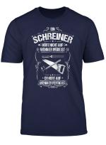 Schreiner T Shirt Alltaglicher Fleiss Tischler
