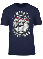 Star Wars Merry Porg Mas Christmas Holiday T Shirt