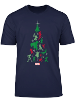 Marvel Avengers And Guardians Of The Galaxy Holiday T Shirt